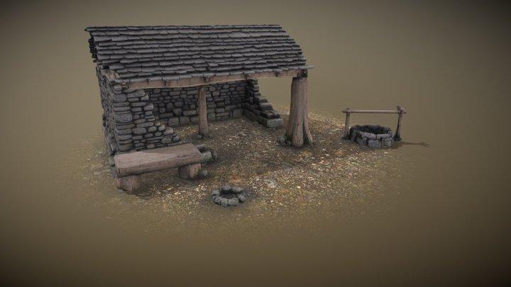 Sheep shed 3D Model