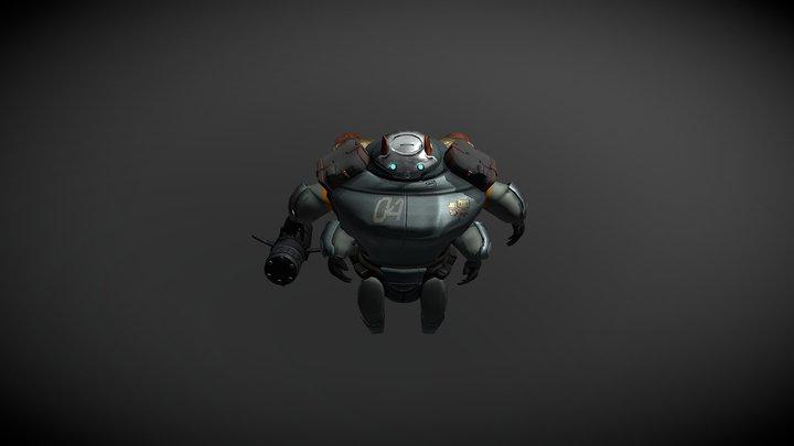 Pig Wars 3D Model 3D Model