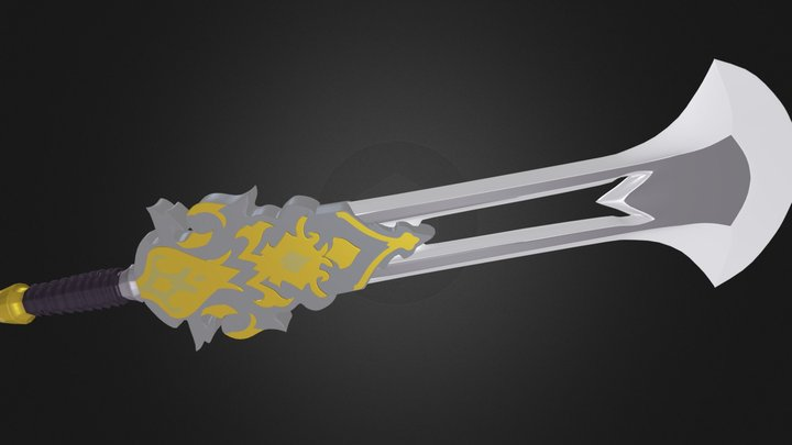 props_pedang 3D Model