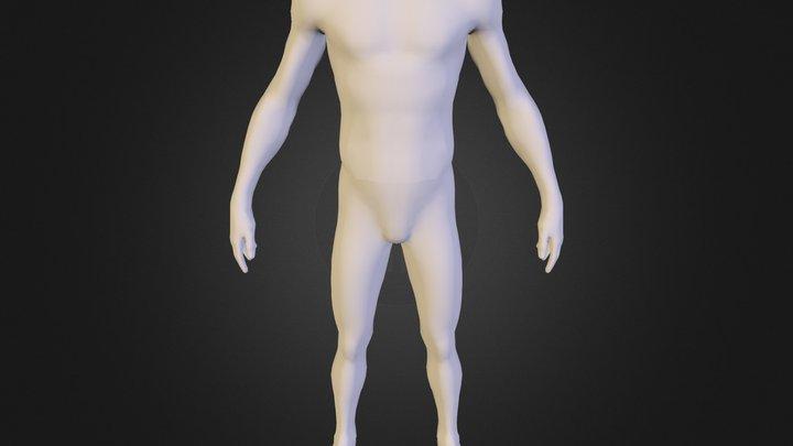 dante_naked 3D Model