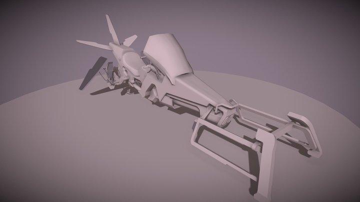 Pulsar Van Bergen A. - B3A1 - 7 février 3D Model