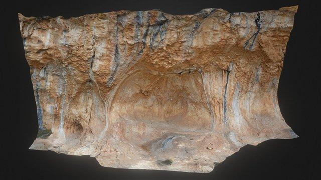 Abric II de La Sarga (Alcoi, Alacant) 3D Model