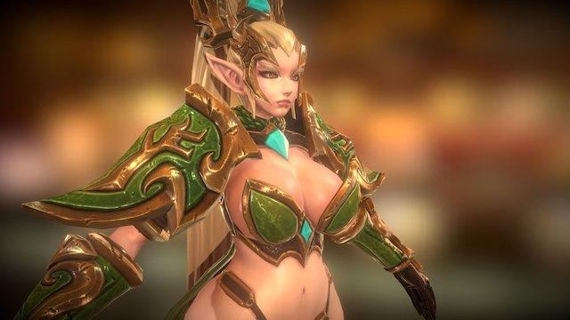 Elf Narwin 3D Model