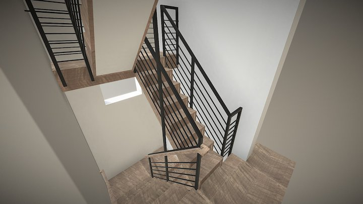 Stair-v9 Alt 3D Model