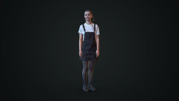 3d scan woman 6 3D Model