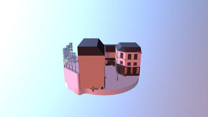 1DAE13 Forrest Jan Cityscene 3D Model