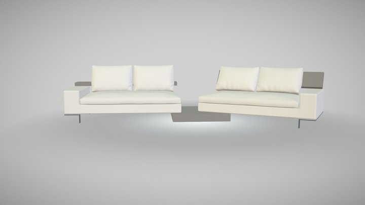 HomePlaneur - Freesofa 3D Model