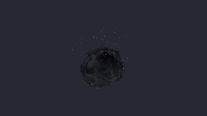 Cave Interior 3D Model