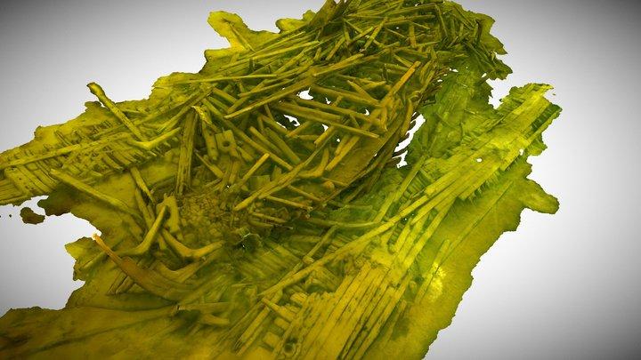 ns. Jolla-hylky 3D Model