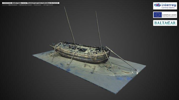 The Dalarö wreck/ Bodekull part 2 3D Model