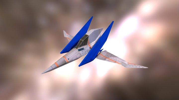 Arwing 3D Model