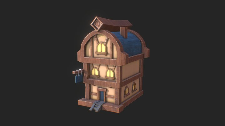 new_house_low 3D Model