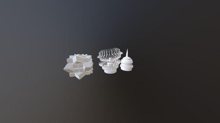 Modifying Primitives 3D Model
