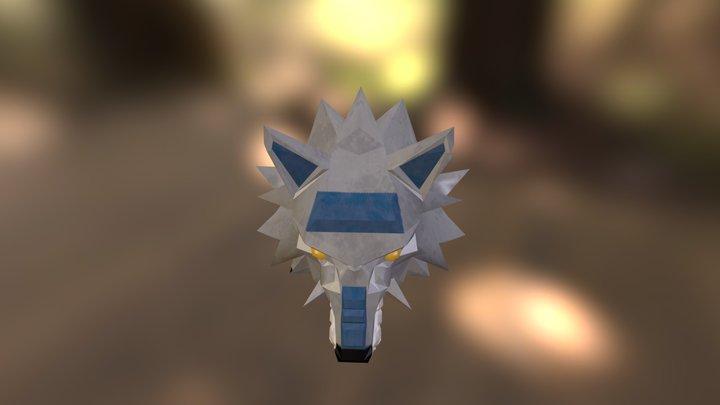 wolfhelmnew.obj 3D Model