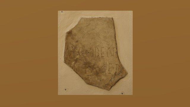 Epigrafe latina - Albano Laziale (1) 3D Model