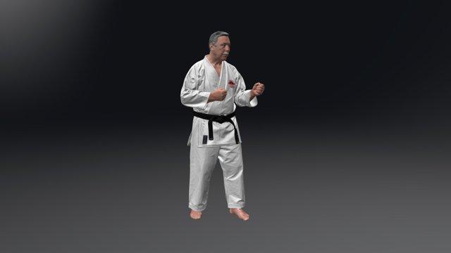 KARATE-MAN 3D Model