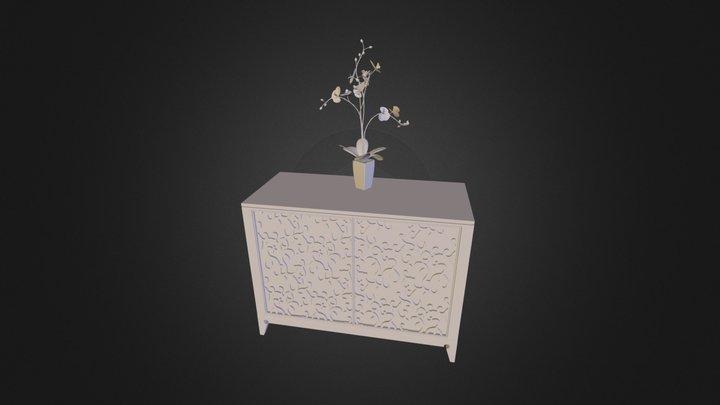 daihuabianzhuo.obj 3D Model