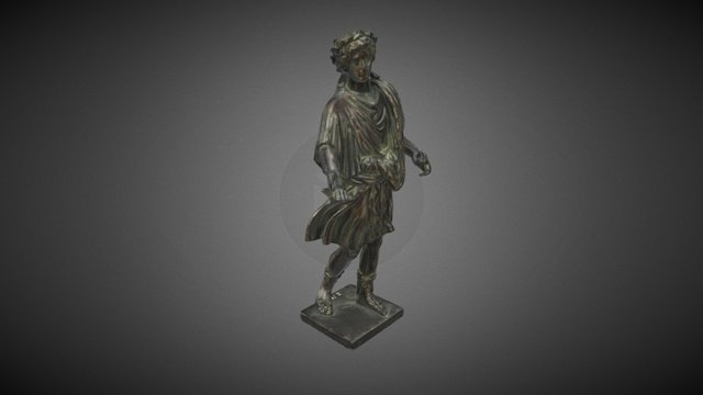 Statuette eines Laren 3D Model