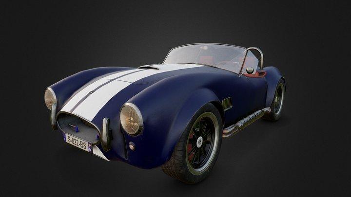AC Cobra 3D Model