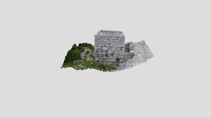 Tor - Jelsa, Island of Hvar 3D Model