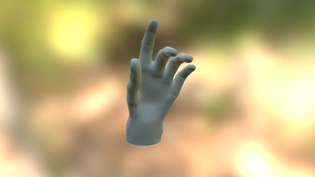 Keyla main gauche 3D Model