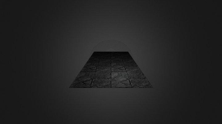 Dungeon Ground Texture 3D Model