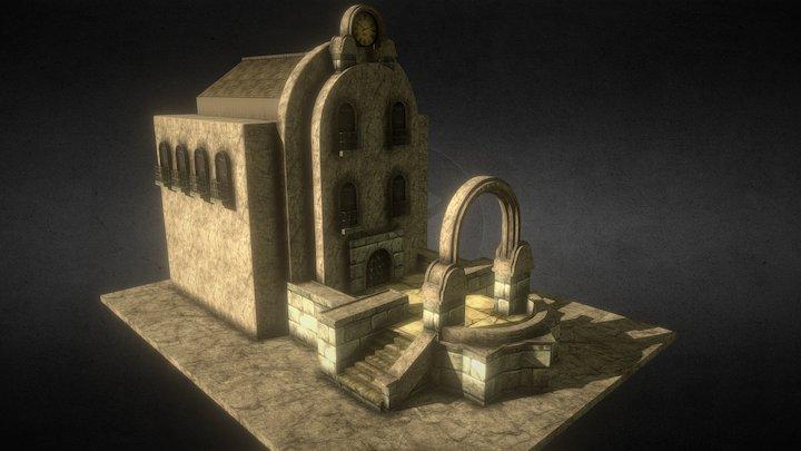 Mercy Environment - House 03 3D Model