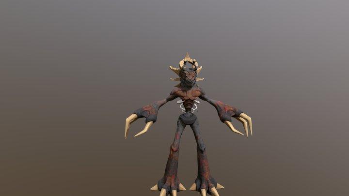 Creature_2018_final 3D Model