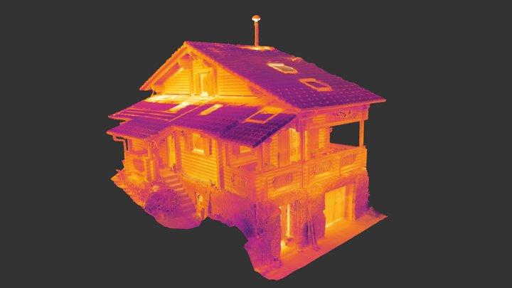 3D Thermal Building 3D Model