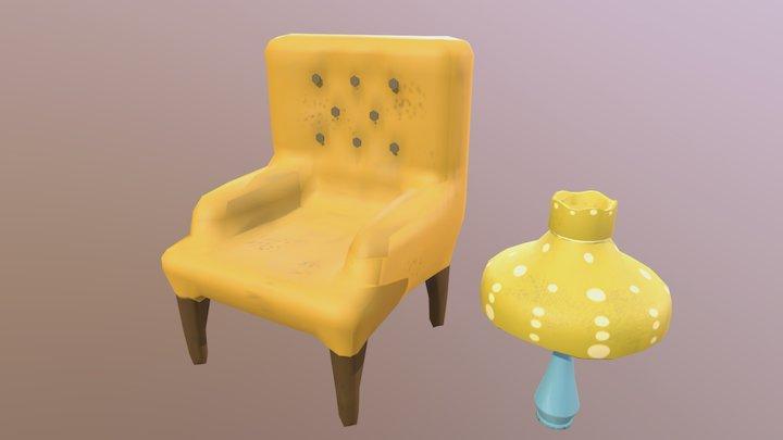 Sitting Arrangement 3D Model