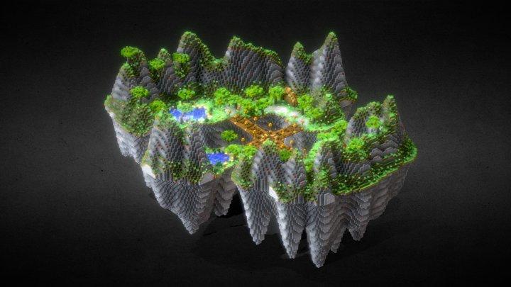 Island spawn 3D Model