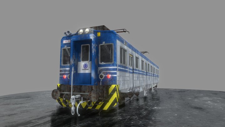 TRA Passenger carriage 3D Model