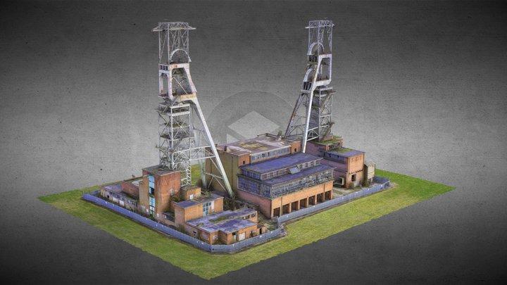 Clipstone Coal Mine - RAW SCAN 3D Model