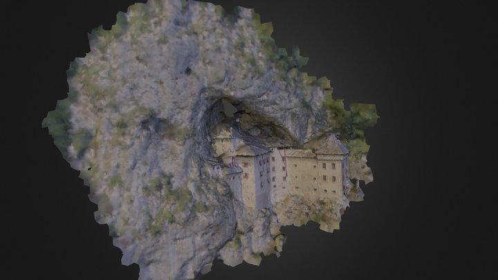 Predjama Castle 3D Model