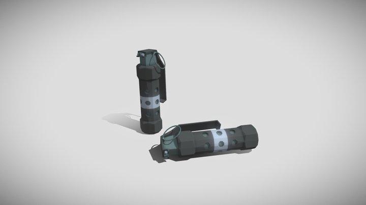 Stun Grenade 3D Model