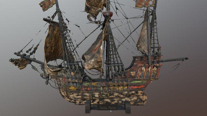 Santa Maria 3D Model