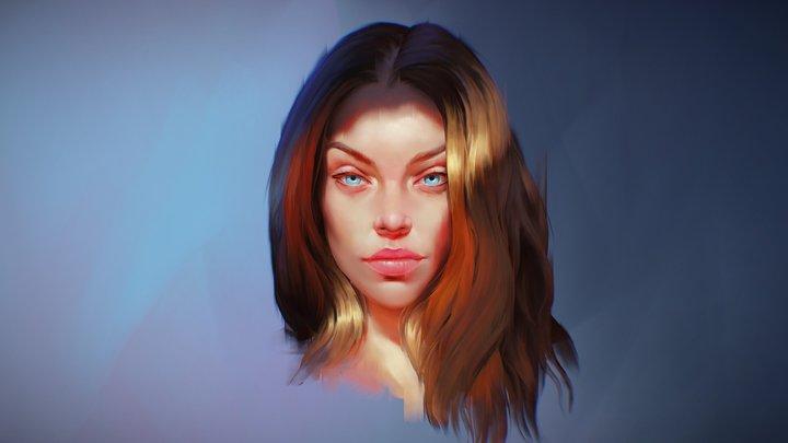 3d Illustration Study 3D Model