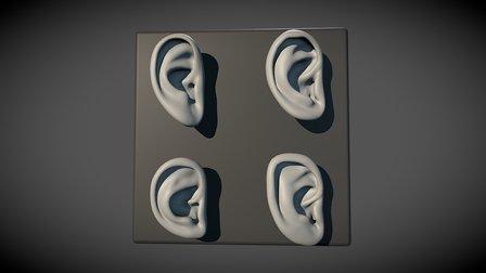 Ear Set 3D Model