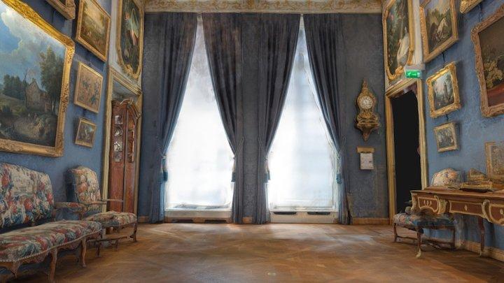 Blue Room - Musée de la Chasse et de la Nature 3D Model