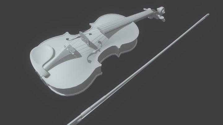 Violin - free model 3D Model