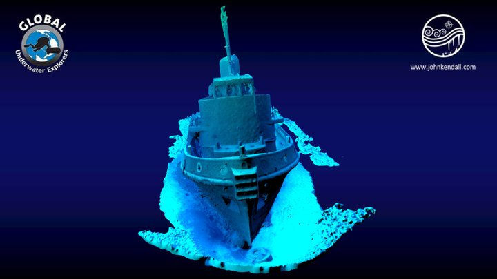 Rozi Wreck - Malta 3D Model