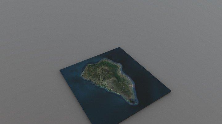 Île de La Palma, archipel des Canaries, Espagne 3D Model