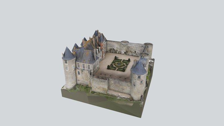 Castle of Luynes 3D Model