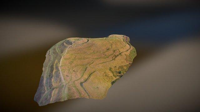 British Camp - Malvern Hills Worcestershire 3D Model