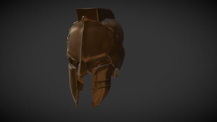 "Sculpt January18 day16: ,,helmet"" 3D Model"