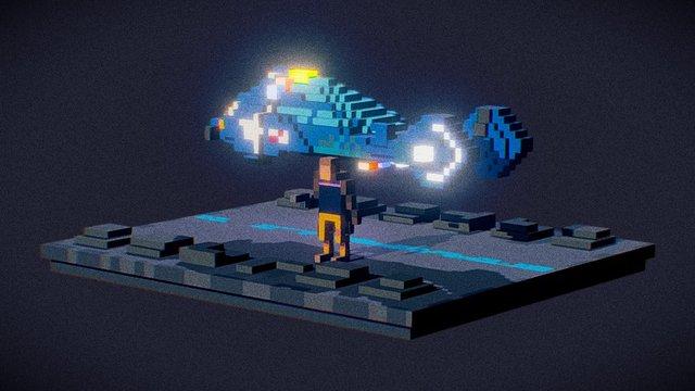Blade Runner Diorama 3D Model