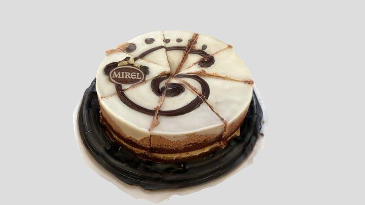 Sliced cake 3D Model
