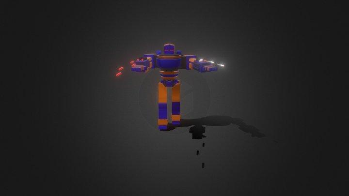 Elite Battle Robot 3D Model