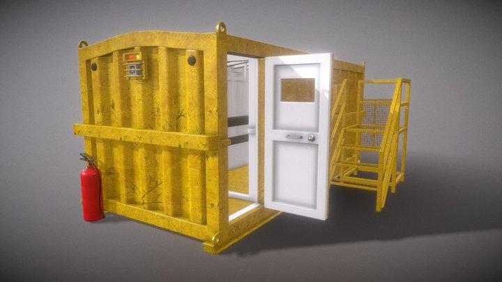 Refugio Minero 3D Model