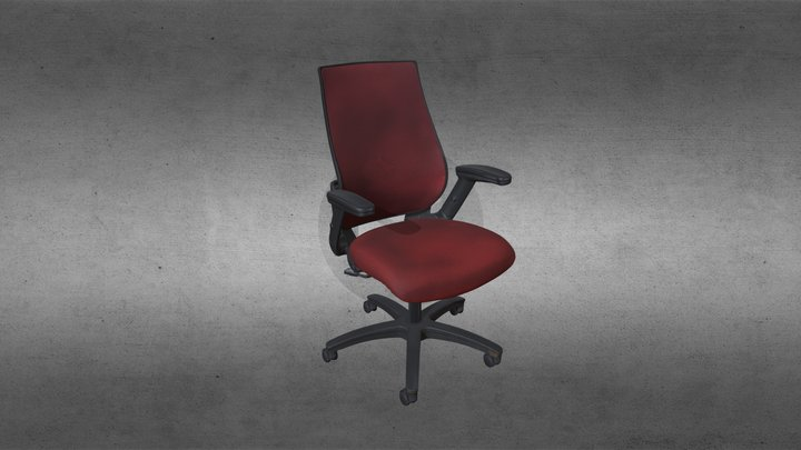530 Chair - 3D Scan 3D Model